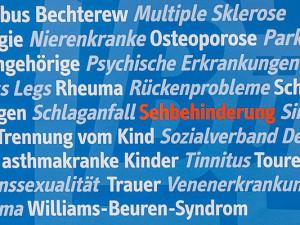 Ein Ausschnitt der gesamten Bandbreite an Selbsthilfegruppen die das BÜZ (Bürger Selbsthilfe Zentrum) betreut. ©Thomas Schmidt, Stadt Herne