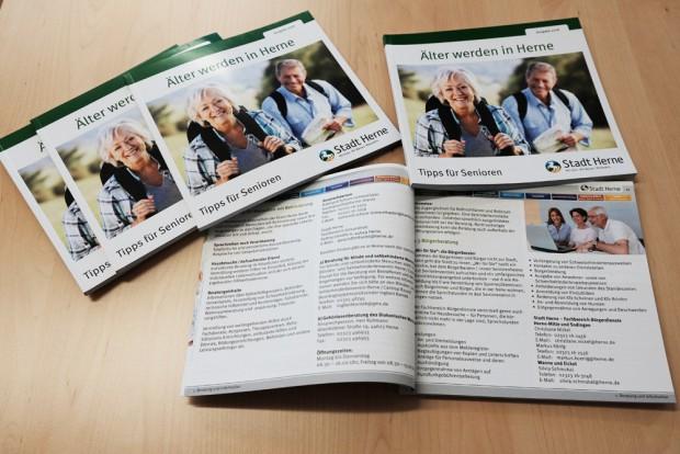 Tipps für ältere Menschen, von Freizeit bis Pflegeheim. ©Nina-Maria Haupt, Stadt Herne