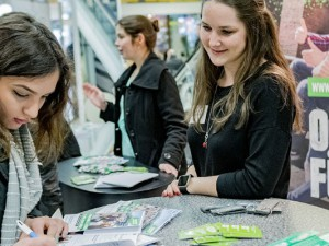 Erste Ausbildungsmesse im City Center ©Frank Dieper, Stadt Herne