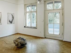 """Die Ausstellung """"Arbeiten auf und aus Papier"""" ist bis zum 10. Juni 2018 zu sehen. ©Frank Dieper, Stadt Herne"""
