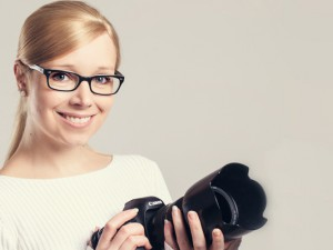 Isabel Diekmann porträtiert für einen guten Zweck.