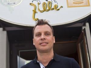 Stefan Rustemeier und sein neues Lokal. ©Horst Martens, Stadt Herne.