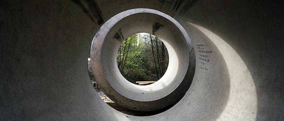 Bei der SEH ist immer Licht am Ende des Tunnels. Jetzt lädt das Unternehmen zur Zehn-Jahresfeier. © Thomas Schmidt, Stadt Herne.