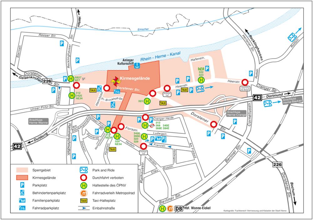 Cranger Kirmes_Verkehrsleitkarte 2018WEB