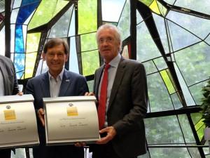 Holger Stoye, Dr. Frank Dudda und Jürgen Bock gemeinsam für Wanne ©Nina-Maria Haupt, Stadt Herne