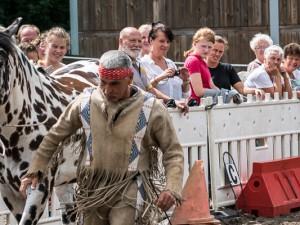 Damit geht es los - mit dem Pferdemarkt der Cranger Kirmes. ©Thomas Schmidt, Stadt Herne.