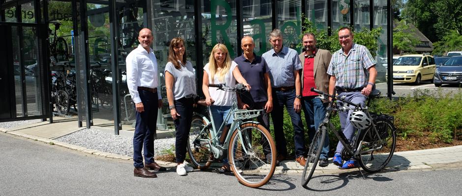"""Das """"Technische Radhaus"""" ist eröffnet. ©Nina-Maria Haupt, Stadt Herne"""