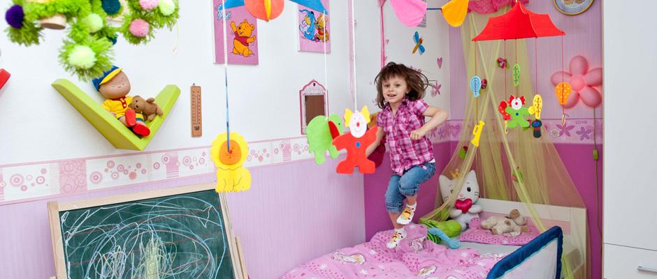 Wenn das Baukindergeld kommt, freut sich auch das Kind. ©lbs-Taubert.