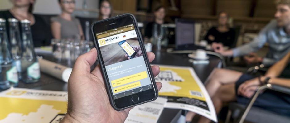 Ein Jahr Integreat-App in Herne | inHerne