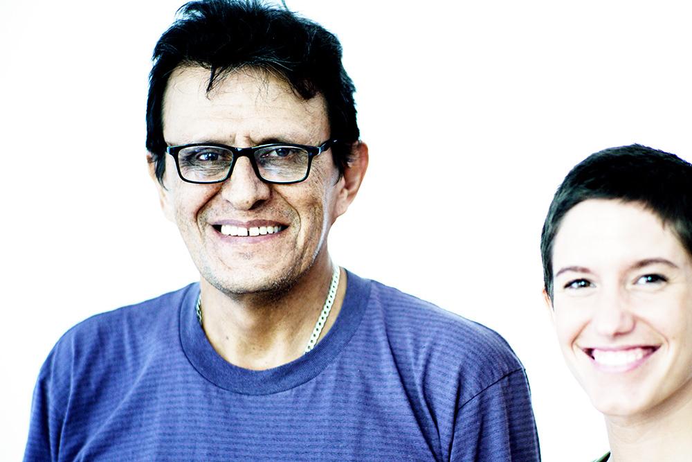 Daniel Pulido und Sabrina Locuratolo. ©Frank Dieper, Stadt Herne.