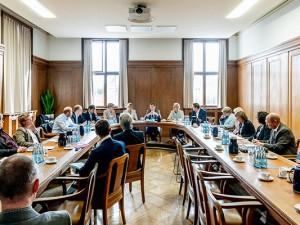 Das Bündnis für Arbeit im Herner Rathaus ©Frank Dieper, Stadt Herne