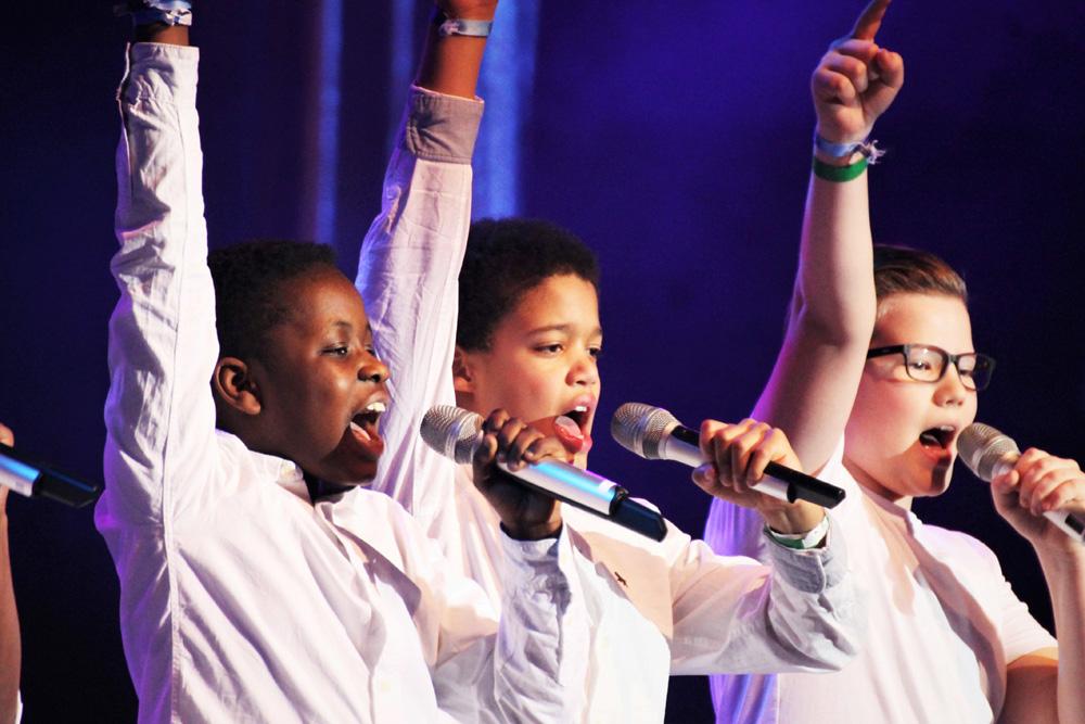 Kinder aus den SpotLight-Ags bereichern ebenfalls die Konzerte. Foto Franziska Bäker
