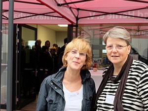 Ulrike Lange und Rita Ludwig beraten demnächst im Quartiersbüro. ©Horst Martens, Stadt Herne.