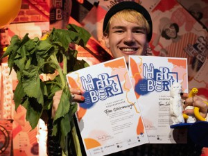 Zweimal Platz 1 für Fynn Schlemminger. © Sabrina Didschuneit