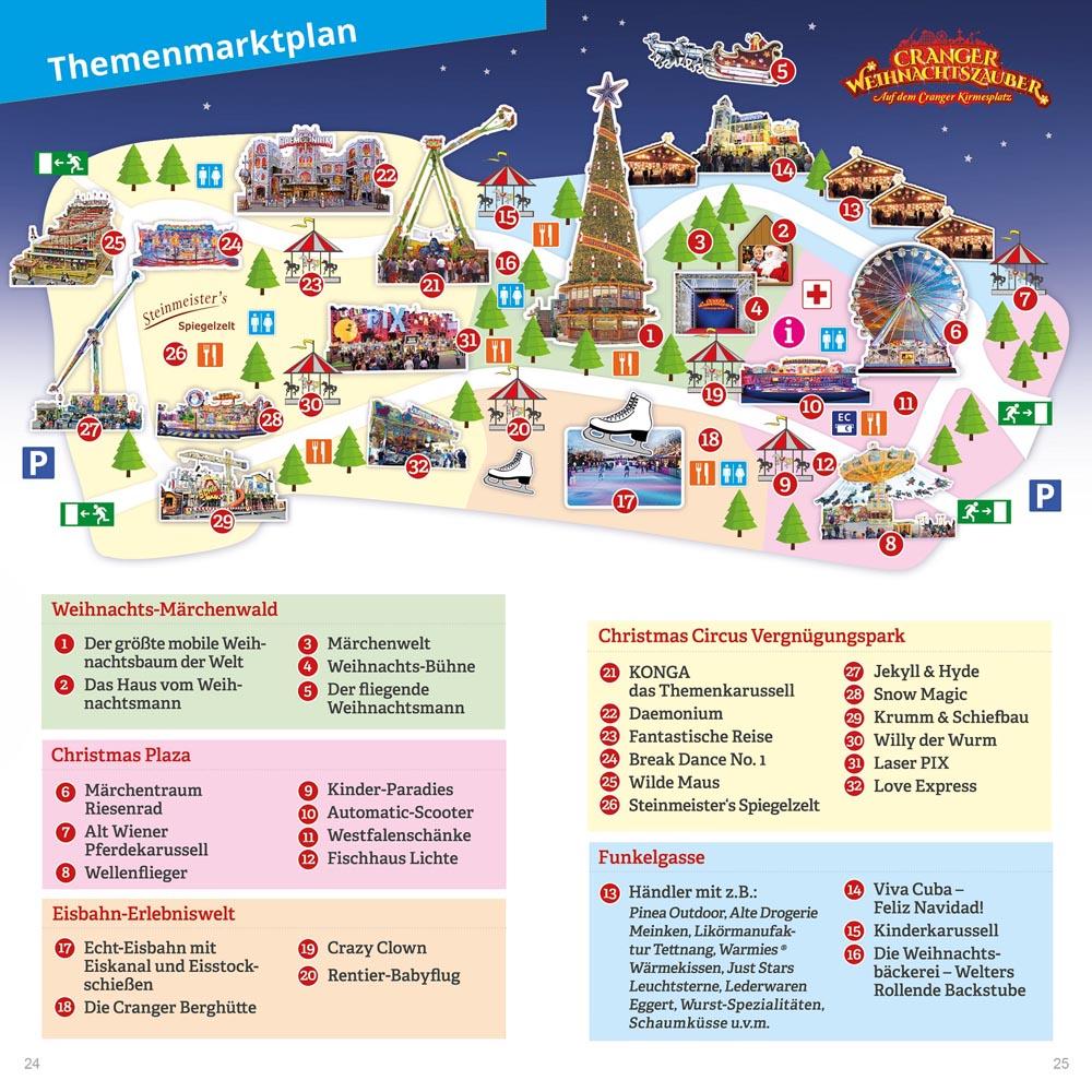 Themenmarktplan Cranger Weihnachtszauber (c) Cranger WeihnachtszauberWEB