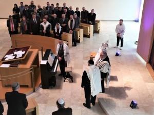 Die jüdische Gemeinde bekommt eine Thorarolle. ©Jüdische Gemeinde Bochum-Herne-Hattingen