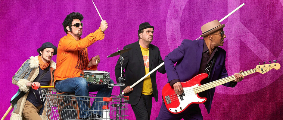 The Four Shops – mobile Band mit 70er-Jahre-Charme.