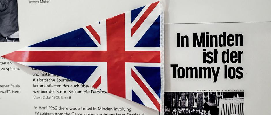 """""""In Minden ist der Tommy los"""". Berichterstattung des Stern 1962 zu Krawallen mit 19 Soldaten eines schottischen Regiments. © Thomas Schmidt, Stadt Herne"""