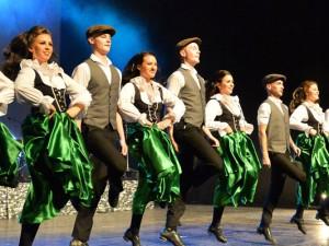 """Die """"Danceperados of Ireland"""". ©Gregor Eisenhuth."""
