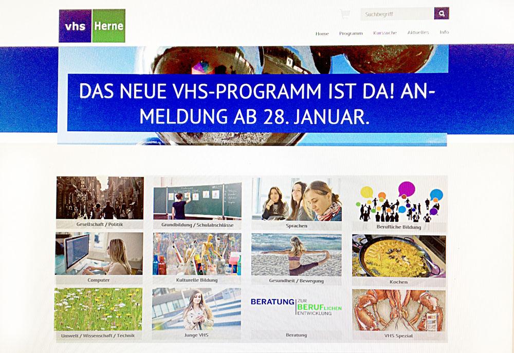 VHS Homepage