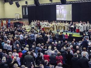 Viele Gläubige kamen zum Gründungsgottesdienst von St. Christophorus. ©Christoph Hüsken, Stadt Herne