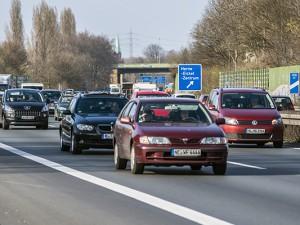 Die A43 bei Herne - zähfließender Verkehr als Standart (Archivbild) . ©Thomas Schmidt, Stadt Herne