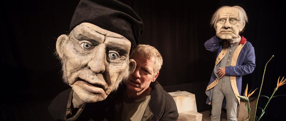 """""""Die Vermessung der Welt"""" - präsentiert vom Theater Korona. ©Sebastian Brauer"""