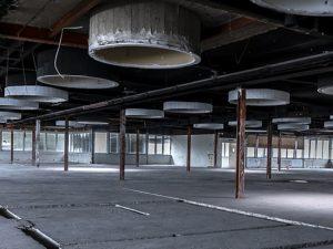 Ein Blick in die oberste Etage des alten Hertie-Kaufhauses. ©Thomas Schmidt, Stadt Herne