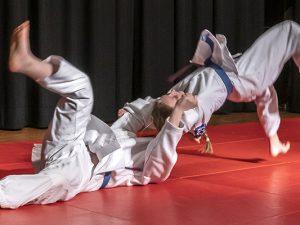 Judovorführung von Nachwuchskämpfer des DSC Wanne-Eickel. ©Thomas Schmidt, Stadt Herne