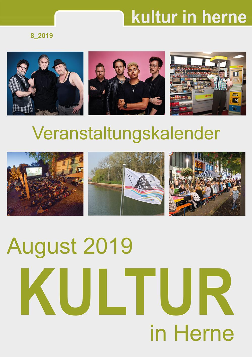 Veranstaltungen im August